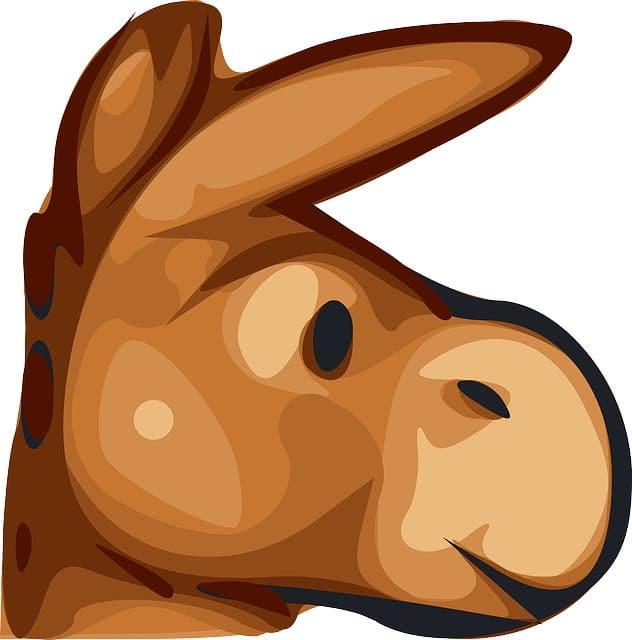 Configuración de eMule. Icono de una mula