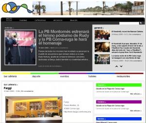 Web www.coma-ruga.info
