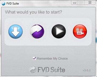 Suite de Video para descargas FVD