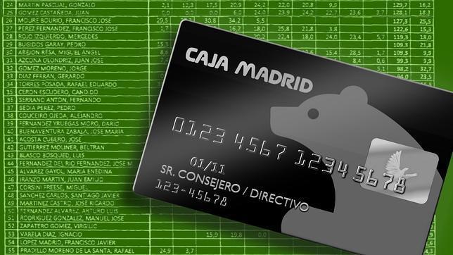 Las tarjetas black de Bankia