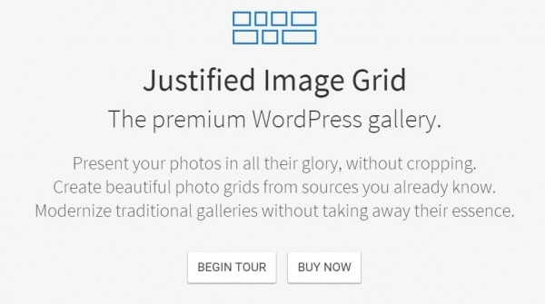 wordpress plugin justified image gallery