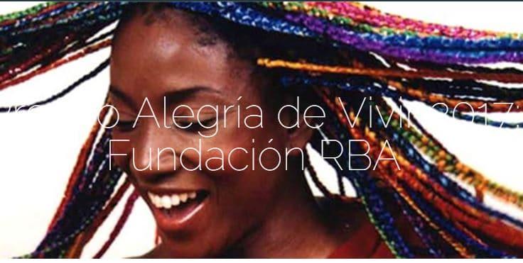 Premios Alegría de Vivir 2017 Fundación RBA