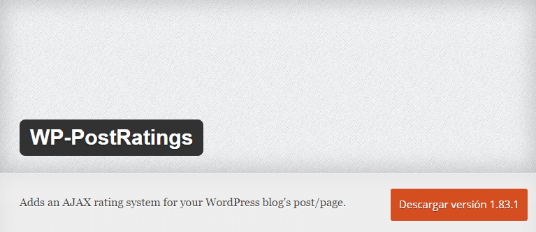 plugin-wp-post-ratings-wordpress