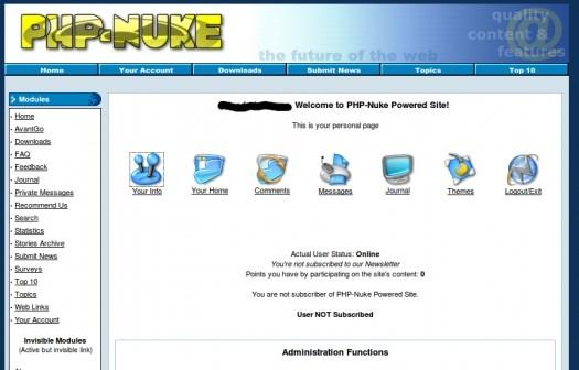 manual de php nuke