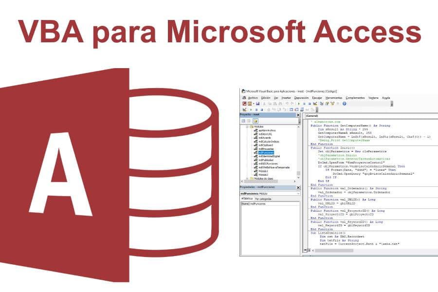 VBA para Microsoft Access. Trucos y ejemplos