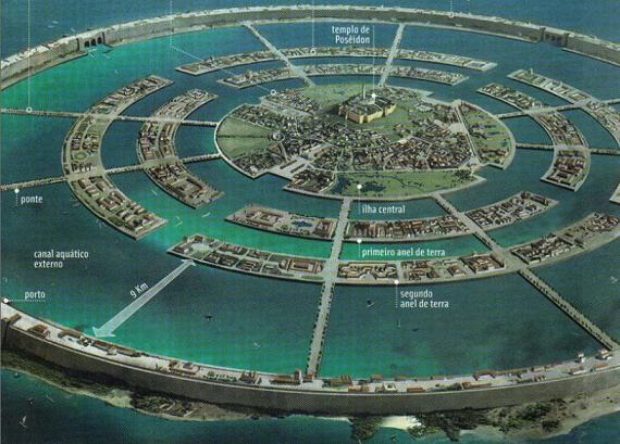 Atlántida. La civilización perdida. Reconstrucción de la ciudad de la Atlántida