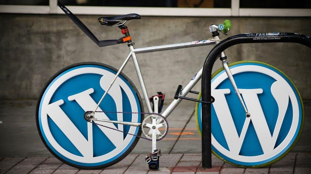 Manual de WordPress y Blog. Imagen de bicicleta